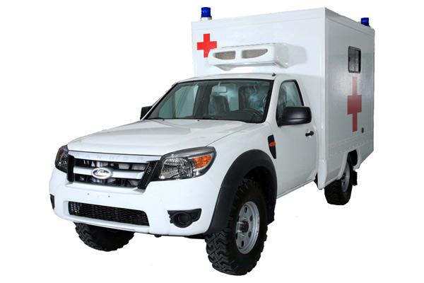 Karoseri Mobil Ambulance 4x4 Ford Ranger
